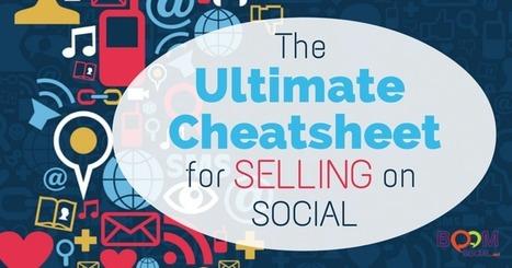 The Ultimate Cheatsheet for Selling on Social Media | Kim Garst | Social Media Magic | Scoop.it