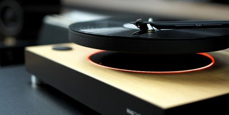 MAG-LEV Audio - Levitating turntable | #Technology | Scoop.it