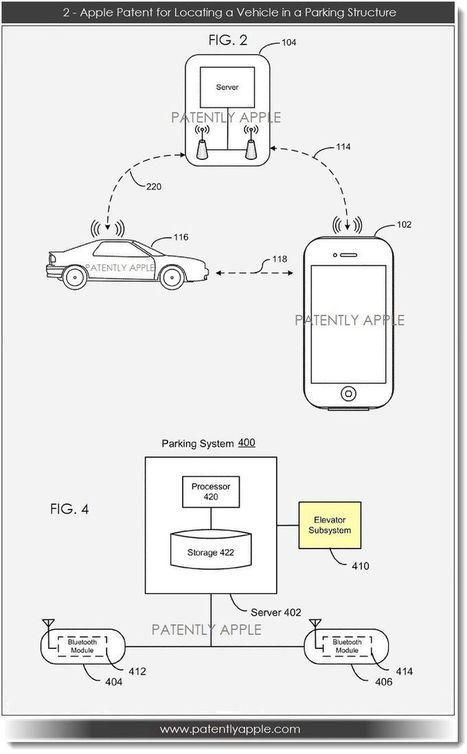 Apple Reveals an Advanced Indoor Mobile Location Application for Finding a Vehicle in a Parking Structure   Macwidgets..some mac news clips   Scoop.it