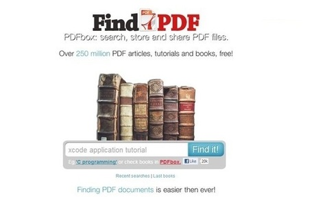 FindPDF, buscador de documentos PDF con alrededor de 250 millones de archivos indexados | EDUCACIÓN 3.0 - EDUCATION 3.0 | Scoop.it