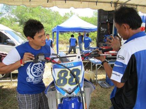 Yamaha Thailand Racing Fans update: FMSCT Supercross R6 - Day 1 Practices | FMSCT-Live.com | Scoop.it
