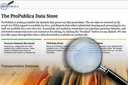 Introducing the ProPublica Data Store | ContentArmy | Scoop.it