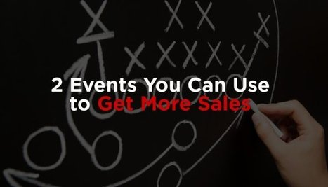 2 Events You Can Use to Get More Sales   Hospitality Sales & Marketing Strategies & Techniques   Scoop.it