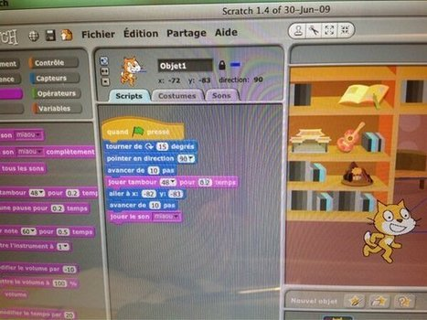 Réaliser un serious game (jeu sérieux) avec Scratch | #Médias numériques, #Knowledge Management, #Veille, #Pédagogie, #Informal learning, #Design informationnel,# Prospective métiers | Scoop.it