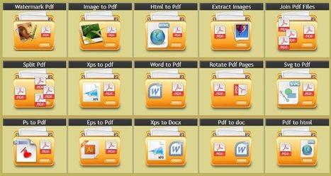 PdfAid, 30 outils pour éditer vos documents PDF | E-learning | Scoop.it