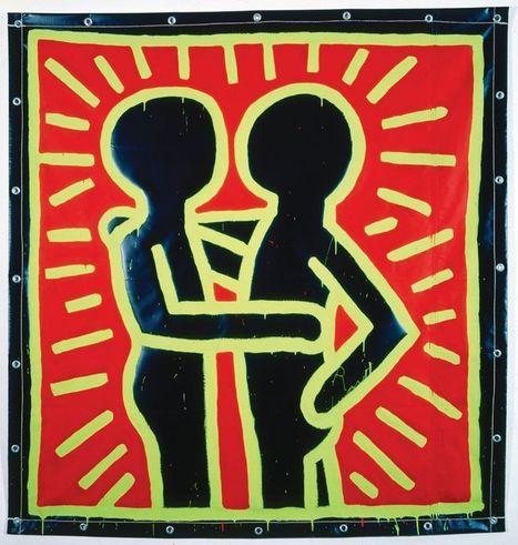 Keith Haring, un artiste engagé - Libération | L'actu culturelle | Scoop.it