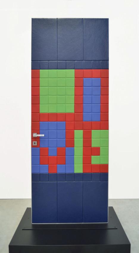 Al via la Design Week con le piastrelle in pelle Lapèlle Design.   Leather Wall Tiles and Leather Floor Tiles   Leather tiles Lapèlle design   Scoop.it