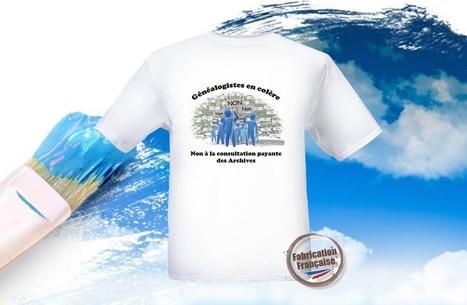 Charente: Les généalogistes enfilent le tee-shirt de la colère - CharenteLibre | Nos Racines | Scoop.it