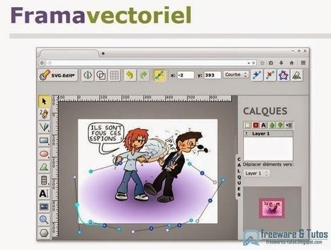 Framavectoriel : un outil en ligne pour créer facilement des images vectorielles au format SVG | Time to Learn | Scoop.it