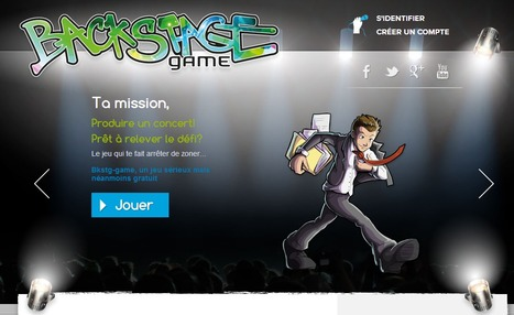 Backstage Game, le jeu qui transforme les jeunes en managers de projet | formation 2.0 | Scoop.it