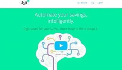 Digit, le service qui décide d'épargner à la place de l'épargnant | Finance Personnelle | Scoop.it