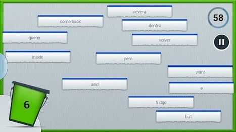 Word Bucket - Applications Android sur Google Play | Language learning: CALL, CMC | Scoop.it