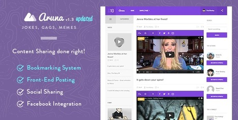 Aruna v1.4 - Retina Content Sharing, Gag, Meme Theme - Nulled WP | Wordpress Themes | Scoop.it