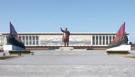 North Korea Tour, Mansudae Grand Monument In Korean Holidays | asia holidays destination picture | Beauty building, park, and city in asia | Scoop.it
