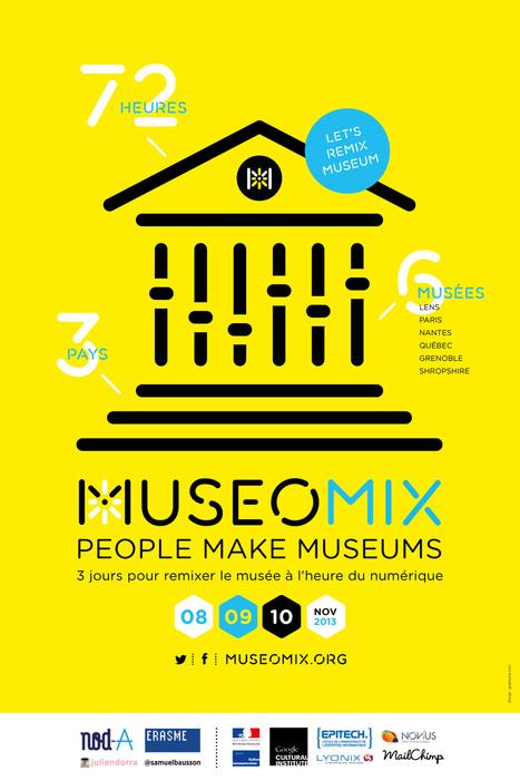 #Museomix, un hackathon culturel pour s'amuser au musée | BLOG La faille spatio-temporelle de Tamala75 | Scoop.it