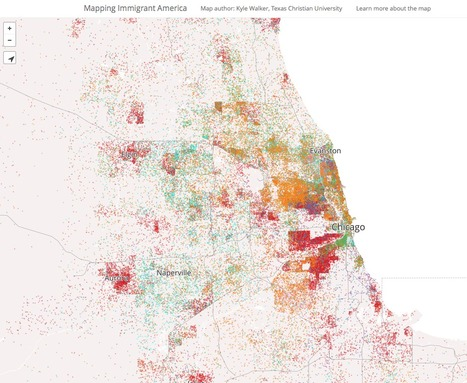 Mapping Immigrant America | Journalisme graphique | Scoop.it