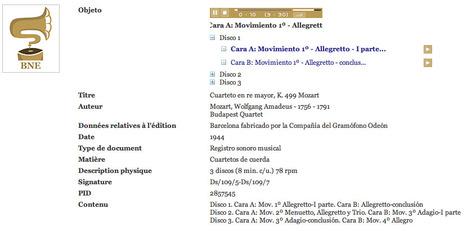 Des milliers d'archives sonores sur la Bibliothèque nationale d'Espagne | SoBookOnline | Bibliothèques numériques | Scoop.it