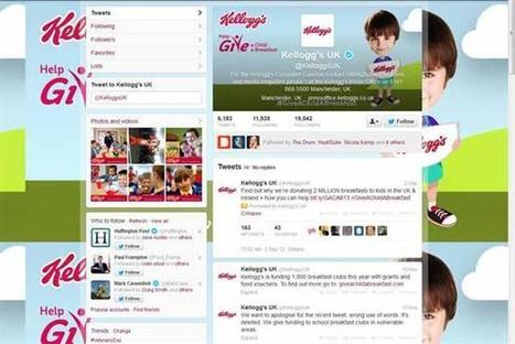 Twitter erupts in fury over Kellogg's '1 RT = 1 breakfast for a vulnerable child' pledge | Marketing Magazine | Gestion Ereputation | Scoop.it