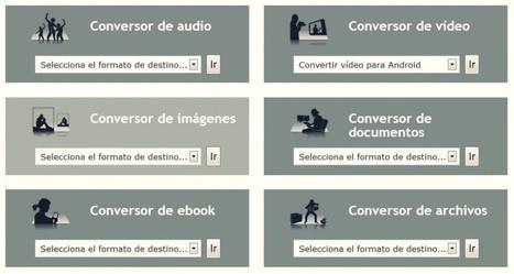 Cambia el formato de cualquier archivo multimedia con Online Convert | tecnologias en el aula | Scoop.it