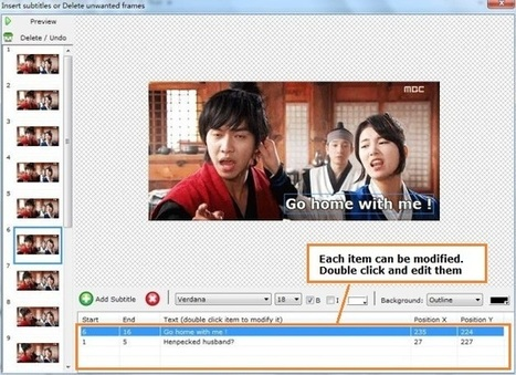 Add text to a gif and make a gif movie with E-PDF Gif Maker | Sony 4K XAVC Converter | Scoop.it