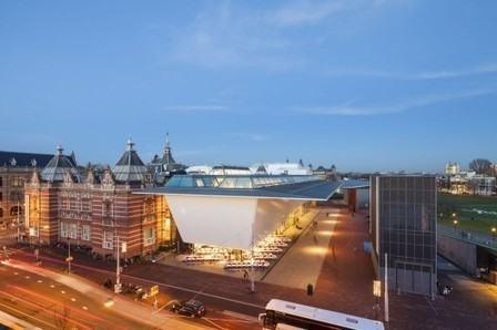 [ Amsterdam, The Netherlands] Stedelijk Museum Amsterdam / Benthem Crouwel Architects | The Architecture of the City | Scoop.it