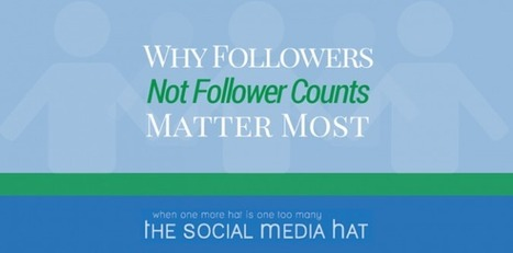 Why Followers, Not Follower Counts, Matter Most | Social Media & Digital Marketing | Scoop.it