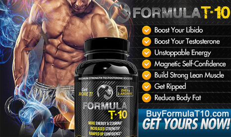 Buy Formula T10 Testosterone Booster Supplement Free Trial | Muscle development product formula t10 specifics | Scoop.it