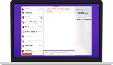 Jive Chime. Messagerie temps réel pour les équipes - Les Outils Collaboratifs | Les outils du Web 2.0 | Scoop.it