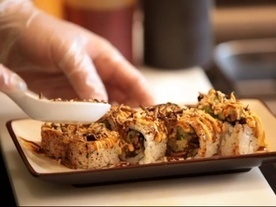 Local sushi chain creates creepy, crawly insect roll | Entomophagy: Edible Insects and the Future of Food | Scoop.it