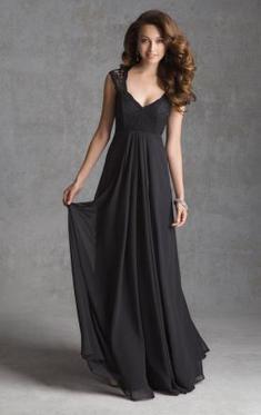 Unique Vintage Long Black Bridesmaid Dress | QueenieAustralia Bridesmaid Dresses | Scoop.it