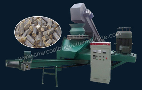 Biomass Briquetting Machine with Ring Die-Large Scale Production of Wood Briquettes | charcoal briquette making | Scoop.it