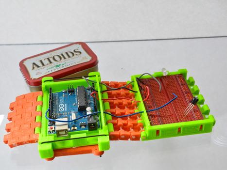 Arduino Mobile Lab 3.0 by jasonwelsh - Thingiverse | Peer2Politics | Scoop.it