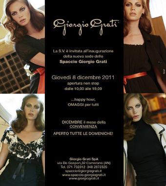 Giorgio Grati inaugura un nuovo Factory Store | Le Marche un'altra Italia | Scoop.it