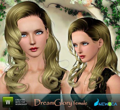 Newsea Dream Glory Female  Hairstyle : FREE TODAY (TSR)   jakubex001   Scoop.it