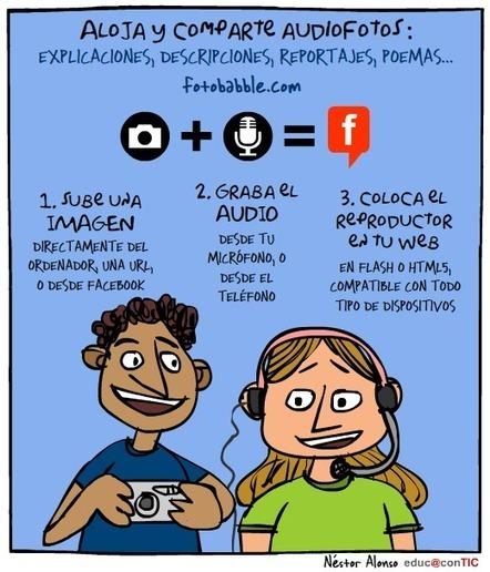 Audiofotos   Nuevas tecnologías aplicadas a la educación   Educa con TIC   Posibilidades pedagógicas. Redes sociales y comunidad   Scoop.it