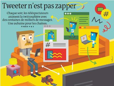 Télévision : tweeter n'est pas zapper | DocPresseESJ | Scoop.it