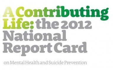 A detailed summary of the national report card on mental health and ... | Health of Australia's youth readings | Scoop.it