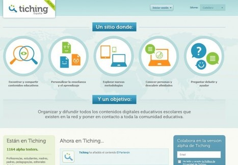 Tiching – más de 50.000 recursos educativos, en español | Docentes y TIC (Teachers and ICT) | Scoop.it