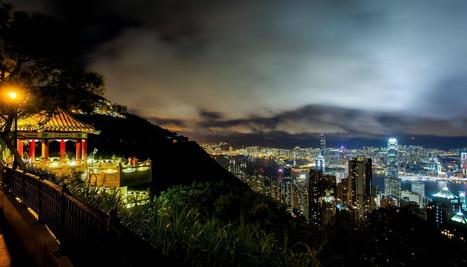 Hong Kong: night view from the Peak | Unique Places | Scoop.it