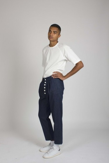 We Are Selecters · heavy denim pants by SUNNEI | My Fashion Selection | Scoop.it
