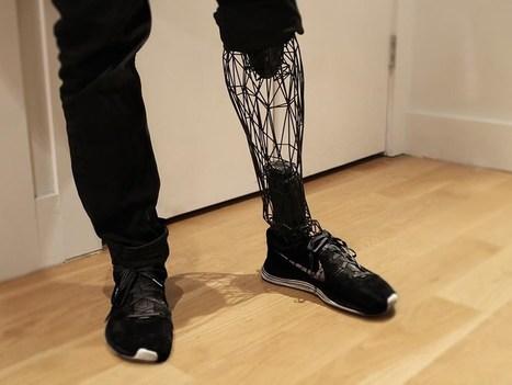 Prótese feita por impressora 3D parece ser de um filme sci-fi | Linguagem Virtual | Scoop.it