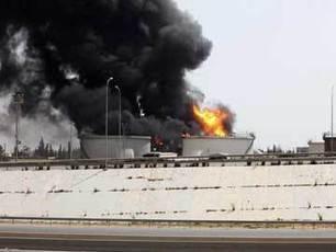 Tripoli Fire Rages as Libya Warplane Crashes During Benghazi Fighting - NDTV | Saif al Islam | Scoop.it