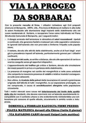 Via la Progeo da Sorbara | Bricciole d'informazione | Scoop.it