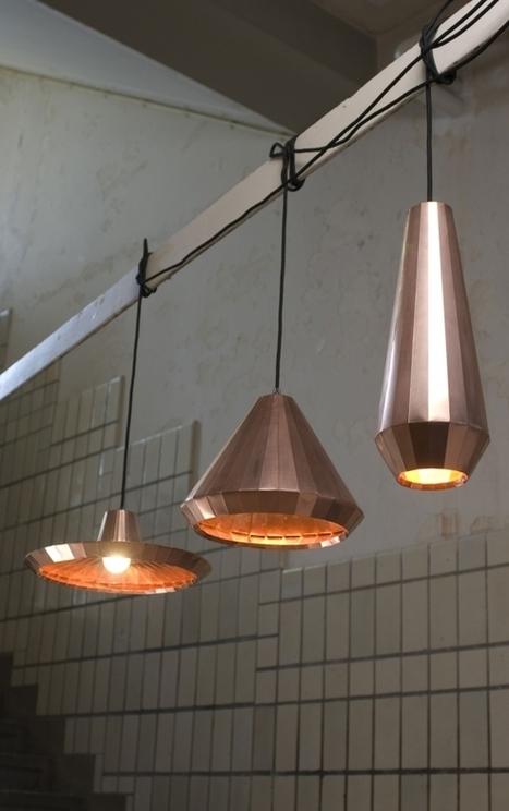 Copper Lights by David Derksen Design | Artaban | Scoop.it