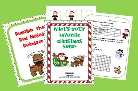Tis' the Season for Singing | Seasonal Freebies for Teachers | Scoop.it