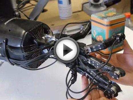 Des chercheurs mettent au point une main robotique très avancée (vidéo) | Remembering tomorrow | Scoop.it