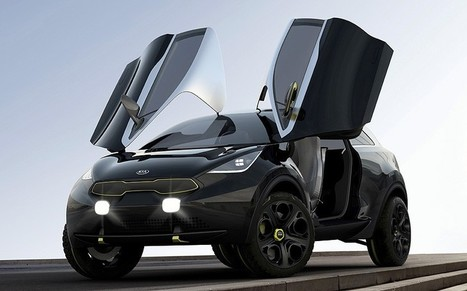 Kia Niro concept car revealed  - Telegraph | What Surrounds You | Scoop.it