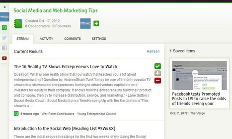How to discover, create and curate great content with Spundge   Smart Media Tips   Scoop.it