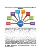 HR Software - For better management and improved employee satisfaction | EmployWise | Scoop.it