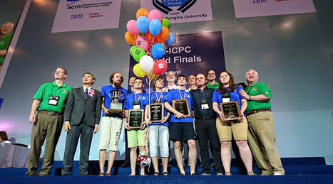 Coding-savvy Russia students best China & US to win 'programming world championship' | STEM Connections | Scoop.it